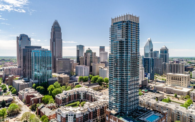 The VUE - Luxury High-Rise Apartments in Charlotte, NC