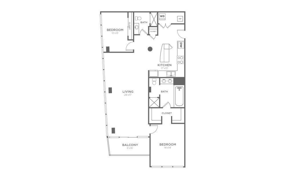 B10 - 2 Bed, 2 Bath Apartment at The VUE